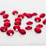 Diamanty červené 20mm 10ks