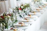 Obrus na stôl biely matný 180x300cm