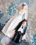 Svadobné postavičky na tortu - svadobné figúrky na tortu Áno beriem!