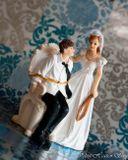 Svadobné postavičky na tortu - svadobné figúrky na tortu Budeš poslúchať drahý?!