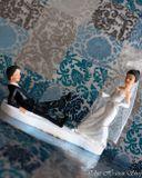 Svadobné postavičky na tortu - svadobné figúrky na tortu povraz