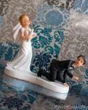 Svadobné postavičky na tortu - svadobné figúrky na tortu udica