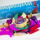 Vystreľovacie konfety farebný mix 1ks