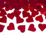 Vystreľovacie konfety srdiečka červené 1ks