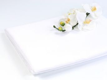 Materiál na výzdobu sály biely 150cm