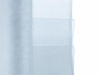 Organza bledomodrá obšitá 38cm / 10ks