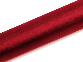 Organza červená 16cm / 10ks
