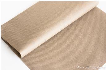 Servítky z netkanej textílie kapučíno bledé