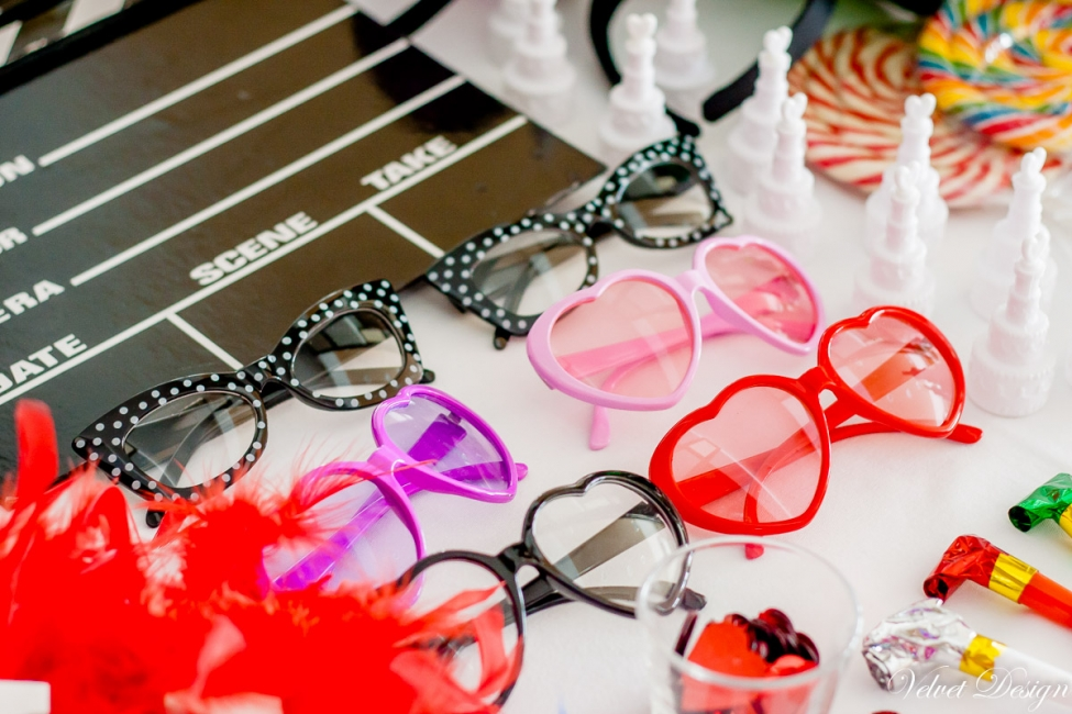 Svadobné srdiečkové okuliare fialové - Predaj organzy a svadobnej ... 02822ae0a64
